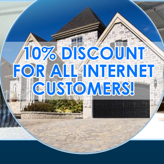 10% off for all internet customers!